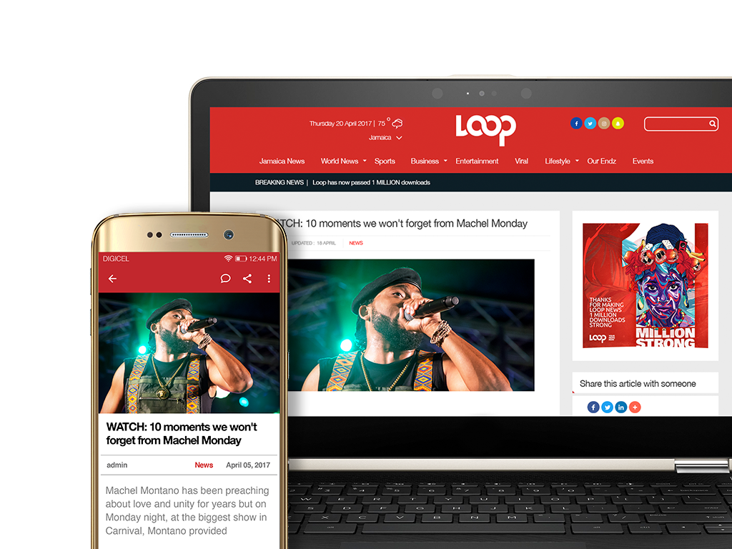 Loop news provides different commercial content options to clients